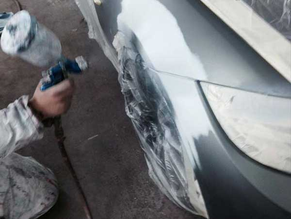 Prepare Bodywork For Respray With Primer